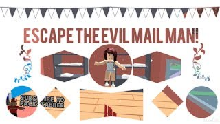 Escape The Evil Mail Man!| Roblox
