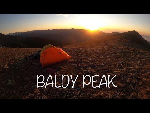 Backpacking to Baldy Peak, Olympic Mountain Range