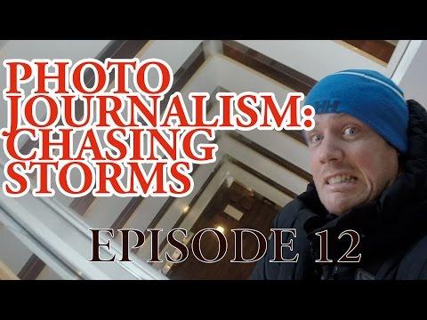 Storm Chasing on Prince Edward Island, Canada! #photojournalism