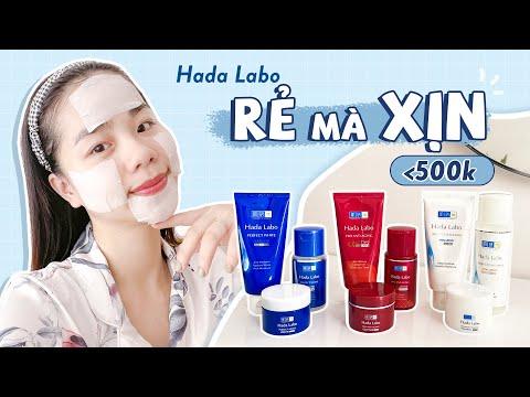 Trọn Bộ Dưỡng Da Dưới 500K ♡ 9 Món Skincare Rẻ Mà Xịn Từ Hada Labo ♡ Quin