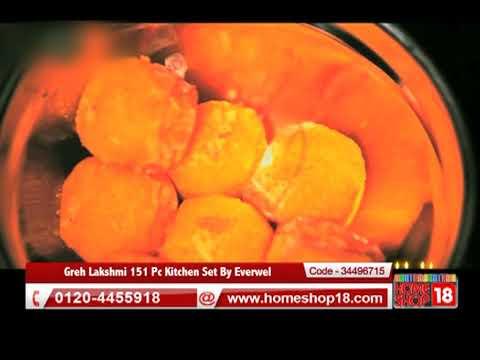 Homeshop18 Com Greh Lakshmi 151 Pc Kitchen Set By Everwel Youtube