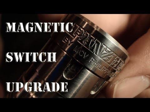 MAGNETIC SWITCH UPGRADE FOR BIOMECH, PANZER AND COPPER OVERDOSE MOD