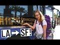 BUS RIDE ACROSS CALIFORNIA! (Los Angeles 🚌San Francisco)
