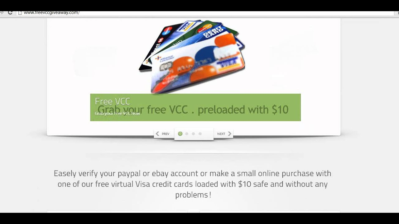 Load virtual credit card with paypal : pitaniesug ga