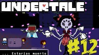 UNDERTALE #12 Nuestra Batalla Con Muffet Y Un Encuentro Desagradable Con Sans   Gameplay Español