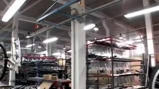 Производство велосипедов Stinger и Novatrack на заводе