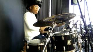 """Vashawn Mitchell-""""Chasing After You"""" (Drum Cover)"""