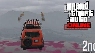 GTA 5 Online - Кола бомбадировач | Състезания