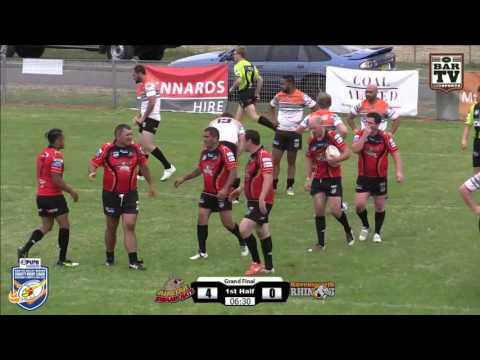 2015 Hunter Valley Charity Rugby League Day Grand Final - Austar Swamp Rats v Ravensworth Rhinos