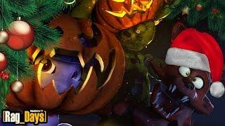 [Rag_Days] 🎄 Как сделать себе Хэллоуин: КоКшмар перед Рождеством 🎄 #2