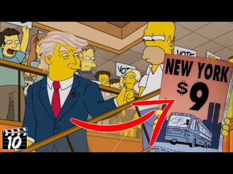 Top 10 Shocking Times The Simpsons Predicted The Future
