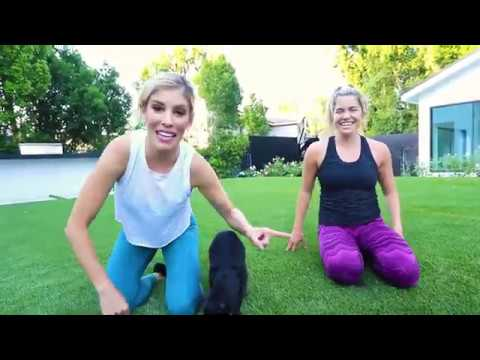 10 Minute Total Body Workout Mystery Challenge!   Rebecca Maddie Fitness