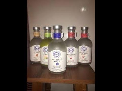 Пробую армянскую водку.Люблю пожрать