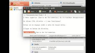 Menu superior (Barra de ferramentas) do VirtualBox desapareceu ?