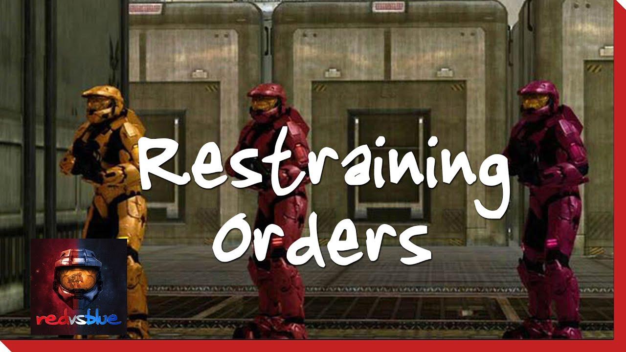 Download Season 8, Chapter 11 - Restraining Orders   Red vs. Blue