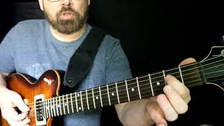 Beer Never Broke My Heart - How to play on electric guitar. Lead Intro lesson Luke Combs Video