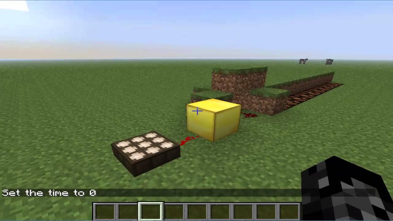 Guia Minecraft Como Usar El Sensor De Luz Minecraft Youtube