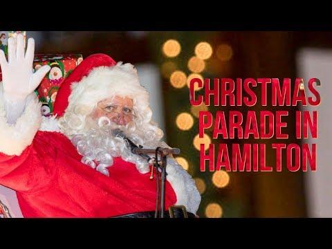 Marketplace Christmas Parade In Hamilton, Nov 26 2017