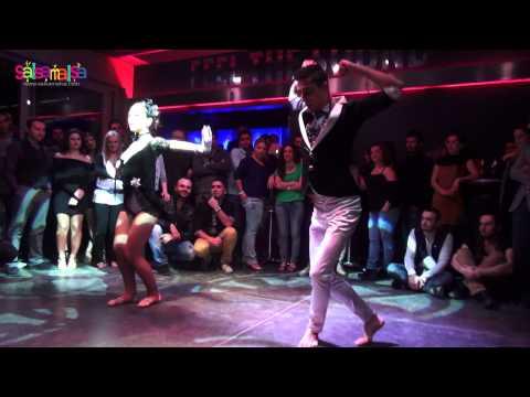 Salsa - Cha Cha Show   Emre Cay & Esin Teke   Bodrum Salsa Weekend