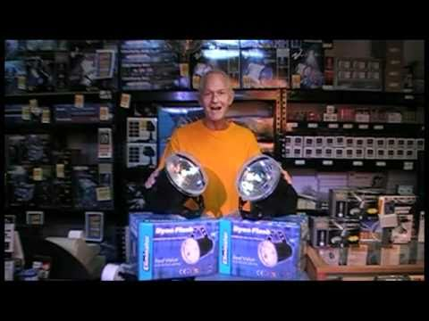 Very Big Halloween Strobe Lights Dyno Flash Party Haunted House Youtube