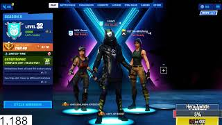 A hacker on Fortnite shows me what skins and dances come on item shop!!!