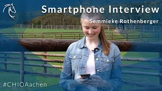 Smartphone Interview mit Semmieke Rothenberger