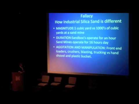 NEW! Dr. Wayne Feyereisn: Potential Public Health Risks of Silica Sand Mining and Processing