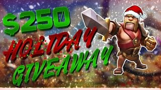 "Clash of Clans: ""Campaign Gameplay"" - Road To Sherbet Towers! $250 HOLIDAY GEM GIVEAWAY!"