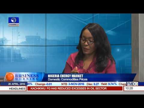 Nigeria Energy Market: Domestic Commodities Price