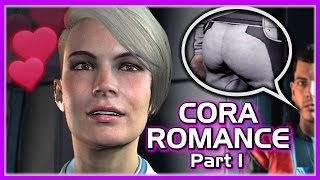 Mass Effect Andromeda 💖 Cora Romance with Male Ryder - Part 1