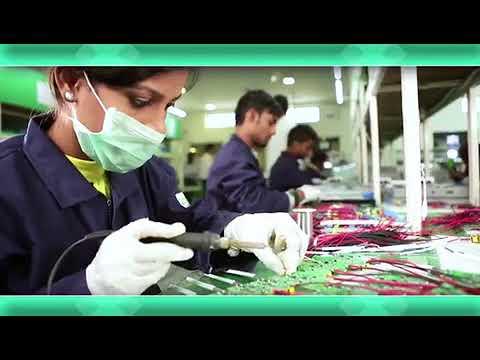 Glow green energy - led factory profile
