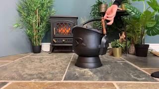 Brindleton Coal Scuttles with Shovels
