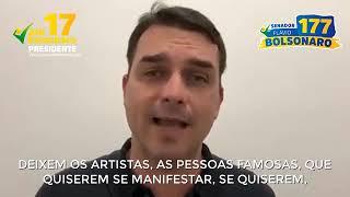 Baixar DEIXEM A ANITTA EM PAZ! FLÁVIO BOLSONARO DEFENDE A LIBERDADE DE #ANITTA!