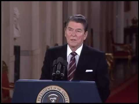 President Reagan's Press Conference in the East Room, November 19, 1986