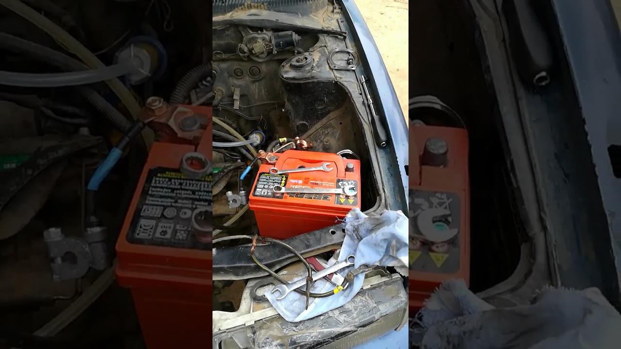 Не крутит стартер, греется минусовая клемма аккумулятора, в чем проблема и что делать