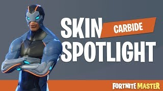 Carbide Skin Spotlight (Fortnite Battle Royale)
