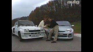 Renault Clio V6 / Renault 5 Turbo 2 (Test - Essai - Reportage) FR 2001