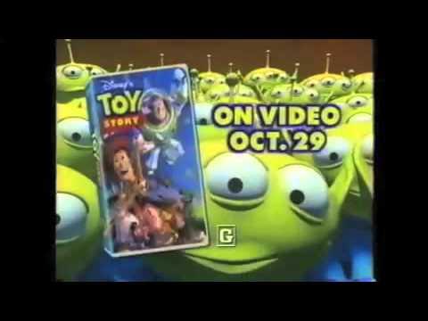 Toy Story Vhs Tv Spots Youtube