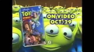 Toy Story VHS TV Spots