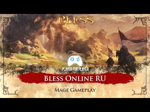 [LIVE 🔴] Bless Online RU - Mage Gameplay - Iniciando no game! FPS FIX ?- Open Beta Russo