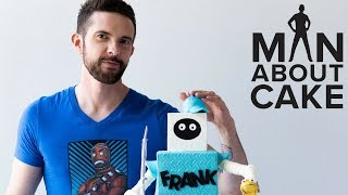 Frank the Tank Groom's Cake FOR BRANDON! | Man About Cake with Joshua John Russell
