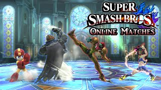 super smash bros wii u online series set 93 team battles