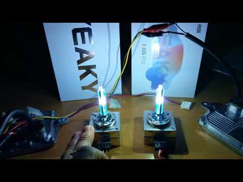LightingRoads: TEST XENON YEAKY LBS VS YEAKY LBS PRO