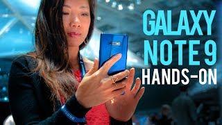 Samsung Galaxy Note 9 hands-on @ IFA 2018