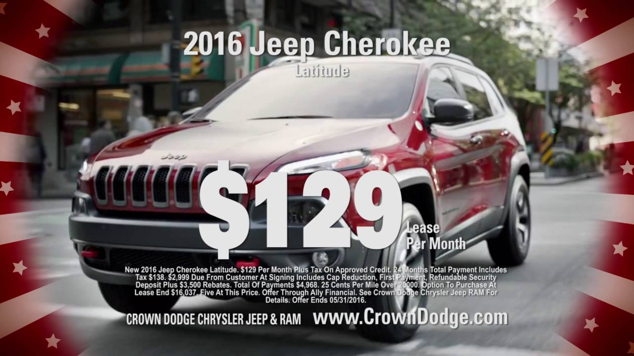 Crown Dodge Jeep Chrysler Ram Memorial Day Sale