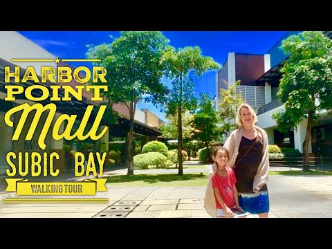 Harbor Point Mall Walking Tour Subic Bay Freeport Zone Zambales Philippines