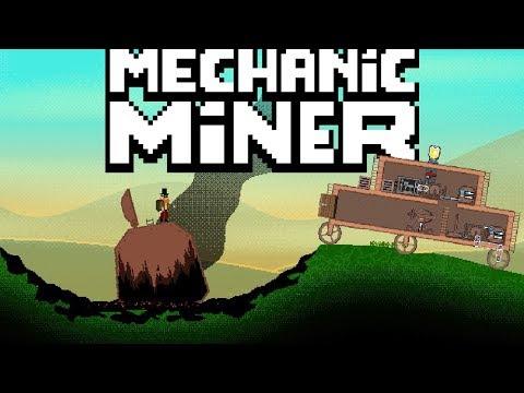 Mechanic Miner - Mining Worlds & Building Vehicles! - Mechanic Miner Gameplay Part 1