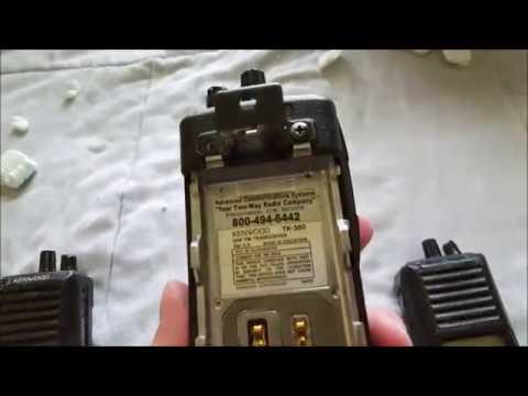 7 Scrap Kenwood TK-380 Radios...Will they Work?