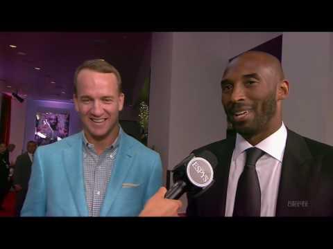 Kobe Bryant, Payton Manning & Abby Wambach Interview - ESPYS 2016