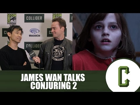 Director James Wan Talks Conjuring 2 At WonderCon 2016 With Collider